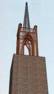 torenspits impressie